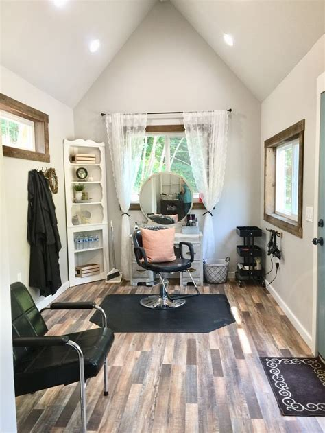 shed    salon farm house salon home hair