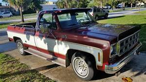 1977 Gmc Sierra Classic Lwb  Original Owner  For Sale