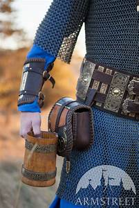 Medieval, Viking, U0026, 39, S, Leather, Belt, With, Brass, Accents, Available, In, Brown, Leather, Black, Leather
