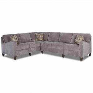 klaussner colleen hybrid reclining sectional with laf With sectional sofas johnny janosik