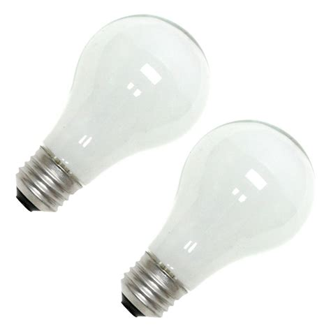 ge 63005 72a w h 2pk a line halogen light bulb