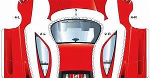 Race Car Paper Cutouts