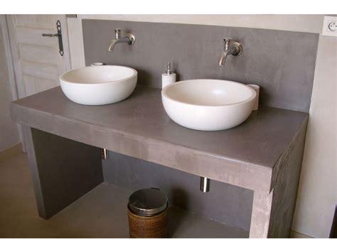 la cuisine dans le bain kit béton ciré sols murs pour cuisine salle de bain