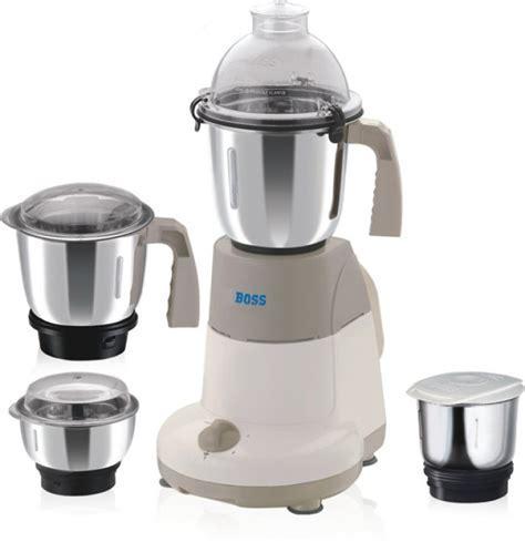 Boss B203 600 W Mixer Grinder(Cream, 4 Jars)   NoveltyCart