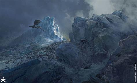 amazing concept art  game  thrones season  part