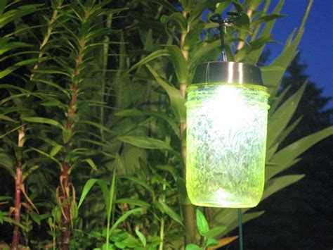 diy solar light jars