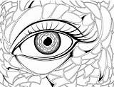 Coloring Pages Eye Eyes Realistic Eyeball Drawing Colouring Transparent London Preschool Hair Anime Getdrawings Getcolorings Printable Pag Angry Clipartmag sketch template
