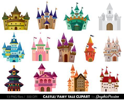 castle clip castle clipart tale clipart pink