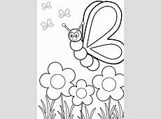 Sketsa Kupu Kupu Dan Bunga Tattoo Art