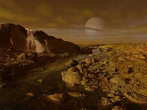 Images From Titan's Surface | Saturn Surface On the ...