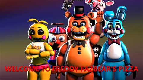 One Family By Alvaxerox On Deviantart Welcome To Freddy Fazbear S Pizza By Legitgoldaf On