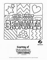 Scout Coloring Brownie Printable Scouts Daisy Cookie Daisies Heavenly Sketchite Photobucket sketch template