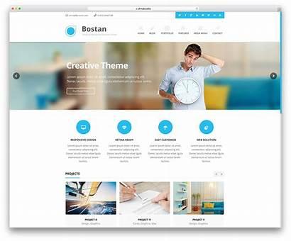 Website Wordpress Business Theme Site Create Internet