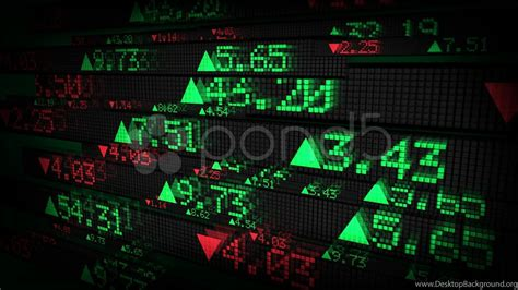 Stock Market Tickers Price Data Animation. Stock Footage ...