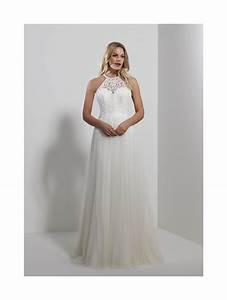 romantica sicily halter neck tulle wedding dress ivory With halter neck wedding dress