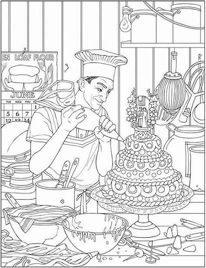 Coloring Pages Dover Adult Haven Creative Mandala