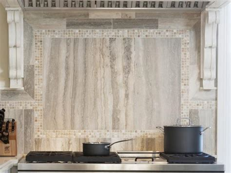 Limestone Backsplash Kitchen by Photo Page Hgtv