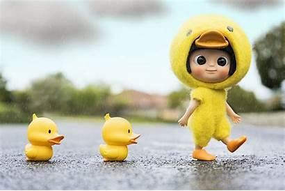 Walk Flickr Duck Easy Cartoon Doll Girly