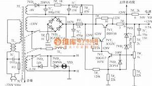 120v Regulated Voltage Power Supply Circuit - Power Supply Circuit - Circuit Diagram