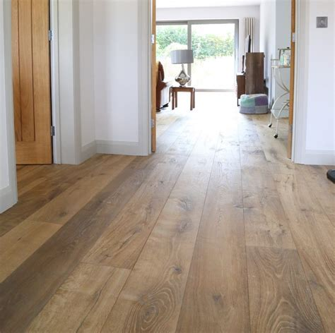 Sandy, Weathered Oak Flooring, Deeply Textured Wide Oak