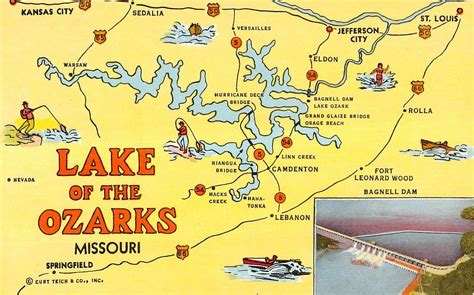 Map Of The Ozarks In Missouri | My Blog