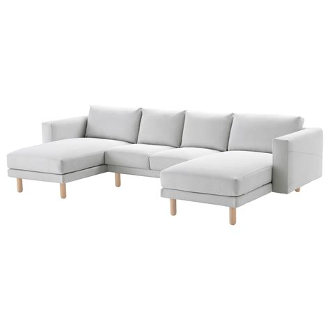 chaises longues ikea norsborg 2 seat sofa with 2 chaise longues finnsta white