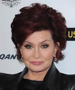 Sharon Osbourne Short Straight Formal Hairstyle Dark