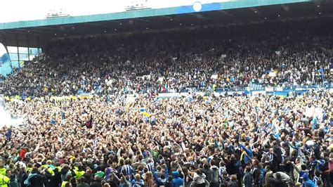 Sheffield Wednesday Win Promotion - YouTube