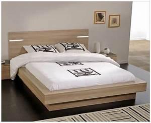 Lit Avec Chevet Intégré Conforama : lit avec table de chevet int gr design en image ~ Teatrodelosmanantiales.com Idées de Décoration