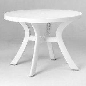Table Ronde Plastique : table de jardin ronde en plastique topiwall ~ Teatrodelosmanantiales.com Idées de Décoration