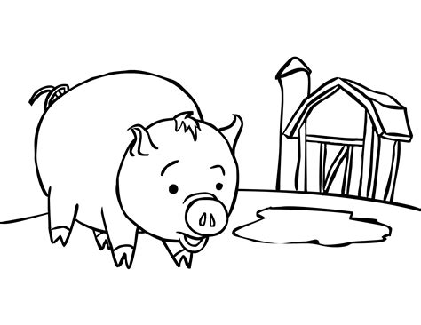 farm coloring pages for preschool coloring home 452 | dT8xMbBKc