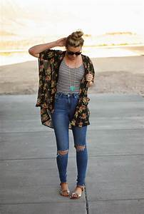 How To Wear Distressed Denim u0026 Ripped Jeans 2018 ...