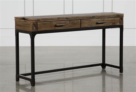 foundry flip top sofa table living spaces