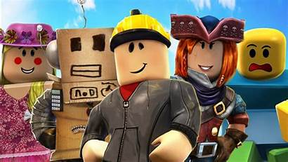 Roblox Background Characters Sky Games Wallpapers 1366