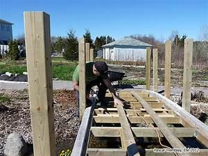 Pont En Bois Pour Jardin : pont de jardin en bois plan de pont et passerelle pour jardin ~ Nature-et-papiers.com Idées de Décoration