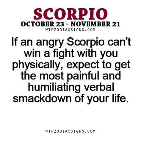 zodiac signs angry scorpios wattpad