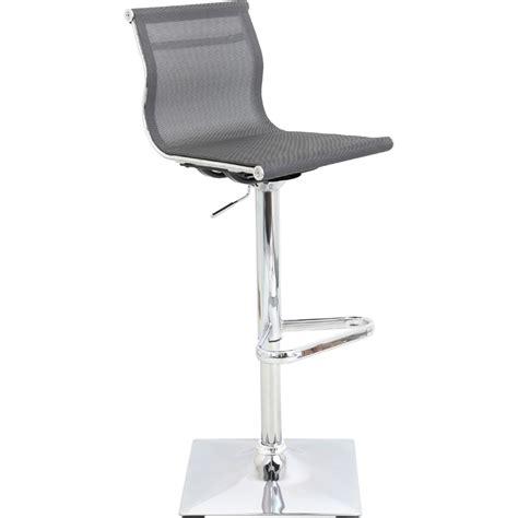 mesh bar stool lumisource bs tw mirage sv mirage bar stool in silver mesh 4082