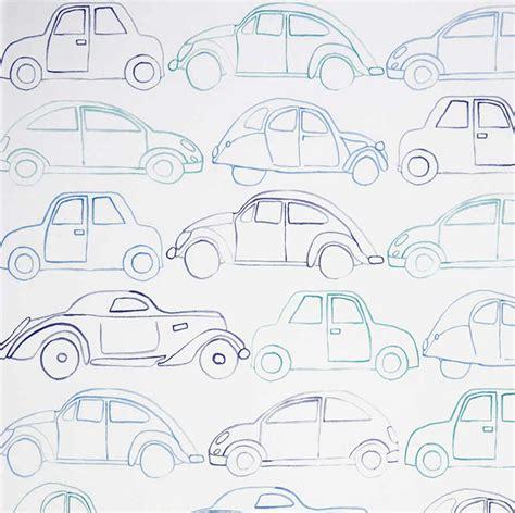 papier peint voiture enfants papiers peints le boudoir