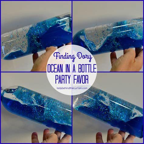 bottle l ideas finding dory in a bottle favor