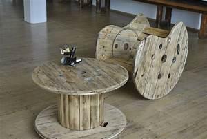 Tisch Aus Kabeltrommel : kabeltrommel holz couchtisch ~ Orissabook.com Haus und Dekorationen