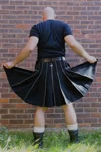 discounted thick black cotton kilts modern kilts