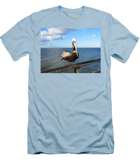 Tshirt On The Pier sitting on the pier t shirt for sale by cynthia guinn