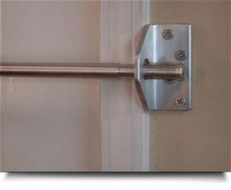 Cabinet Door Restraint Hardware by Security Doors Security Door Brackets
