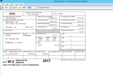 w2 template w2 forms 2017 printable pdf
