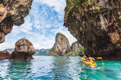 krabi thailand  crazy tourist