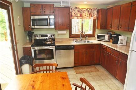 Kitchen Encounters Ma by Eastham Cape Cod Vacation Rental Well Stocked Kitchen