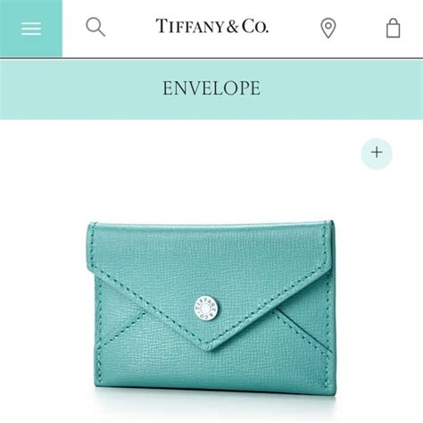 See our offer for tiffany & co. 33% off Tiffany & Co. Clutches & Wallets - Tiffany's Leather Envelope/Business Card Holder from ...