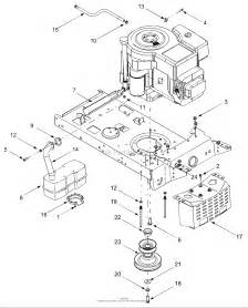 Troy Bilt 13an689g766 Pony  2004  Parts Diagram For Engine