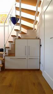 Treppe Mit Stauraum : stauraum unter der treppe singer schreinerei ~ Michelbontemps.com Haus und Dekorationen