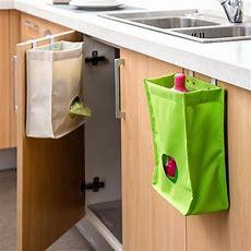 Kitchen Storage Bag Drawer Cabinet Door Back Garbage Bag